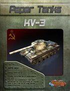 Paper Tanks - KV-3