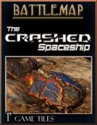 The Crashed Spaceship - Battlemap
