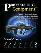 Pangenre RPG Equipment - Second Edition