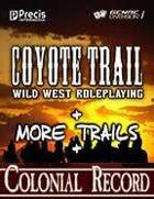 Coyote Trail: The Big Bundle [BUNDLE]