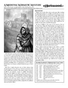 A Medieval Monastic Mystery (Darkwood)