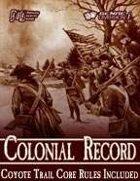 Colonial Record Core [BUNDLE]