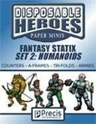 Disposable Heroes Fantasy Statix 2: Humanoids