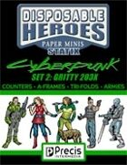 Disposable Heroes Cyberpunk Statix 2 (Gritty 203X)