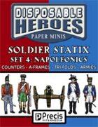 Disposable Heroes Soldier Statix 4: Napoleonics