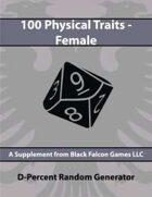 D-Percent - 100 Physical Traits - Female
