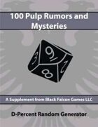 D-Percent - 100 Pulp Rumors and Mysteries