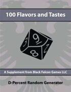 D-Percent - 100 Flavors and Tastes
