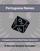 D-Percent - Portuguese Names