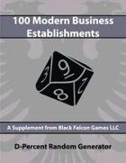 D-Percent - 100 Modern Business Establishments