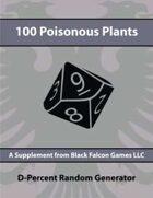 D-Percent - 100 Poisonous Plants