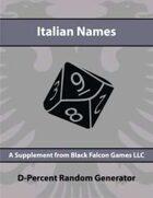 D-Percent - Italian Names