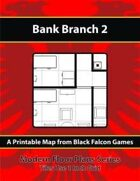 Modern Floor Plans - Bank Branch 2