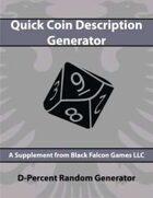 D-Percent - Quick Coin Description Generator