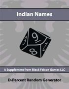 D-Percent - Indian Names