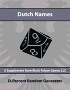 D-Percent - Dutch Names