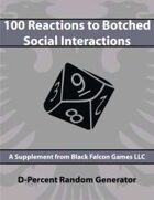 D-Percent - 100 Reactions to Botched Social Interactions