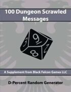 D-Percent - 100 Dungeon Scrawled Messages