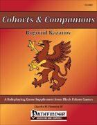 Cohorts & Companions - Bogomil Kazanov [PFRPG]
