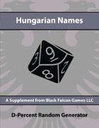 D-Percent - Hungarian Names