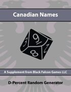 D-Percent - Canadian Names