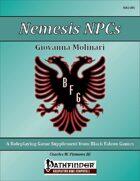 Nemesis NPCs - Giovanna Molinari [PFRPG]