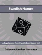 D-Percent - Swedish Names
