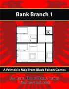 Modern Floor Plans - Bank Branch 1