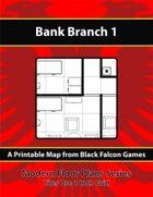 Modern Floor Plans - Bank Branch 1