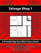 Modern Floor Plans - Salvage Shop 1