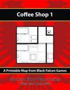 Modern Floor Plans - Coffee Shop 1