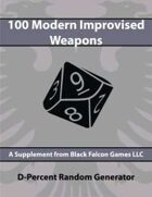 D-Percent - 100 Modern Improvised Weapons
