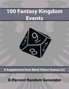 D-Percent - 100 Fantasy Kingdom Events