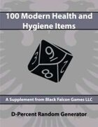D-Percent - 100 Modern Health and Hygiene Items