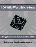 D-Percent - 100 Wild West Bric-a-brac