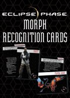 Eclipse Phase: Morph Recognition Cards (first edition)