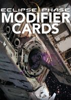 Eclipse Phase: Modifier Cards (first edition)