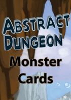 Abstract Dungeon Monster Cards: Basic Deck