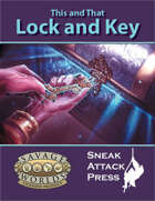 This and That: Lock and Key (Savage Worlds)