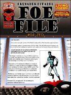 Foe File 04: Zed