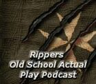 Old School Podcast: Rippers at RavenCon Actual Play
