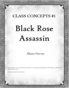 Class Concepts #1: Black Rose Assassin