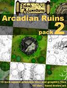 Inked Adventures Arcadian Ruins Pack 2
