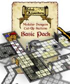 Inked Adventures: Modular Dungeon Cut-Up Sections Basic Pack