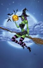 Witch color print