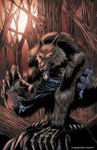 Werewolf red print
