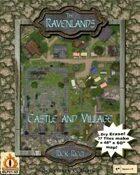 """The Ravenlands Bundle 1: Castle and Village (1"""" square = 5')"""