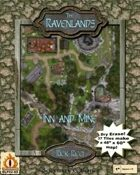 """The Ravenlands Bundle 2: Inn and Mine (1"""" square = 5')"""