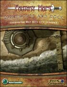 Fantasy Maps: Lighthouse and Dock Map Pack