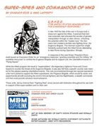 M&M: Super-spies and Commandos of WW2